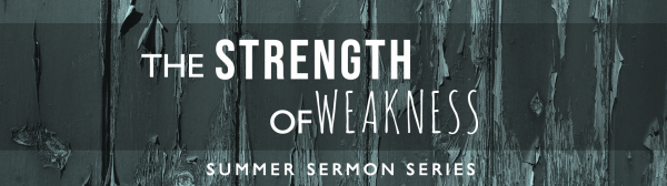 Finding Strength in Weakness Image